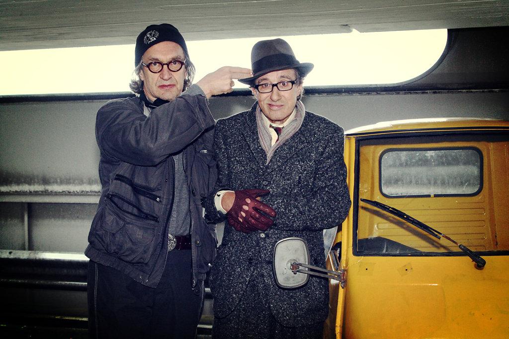 Wim Wenders & Rolf Zacher